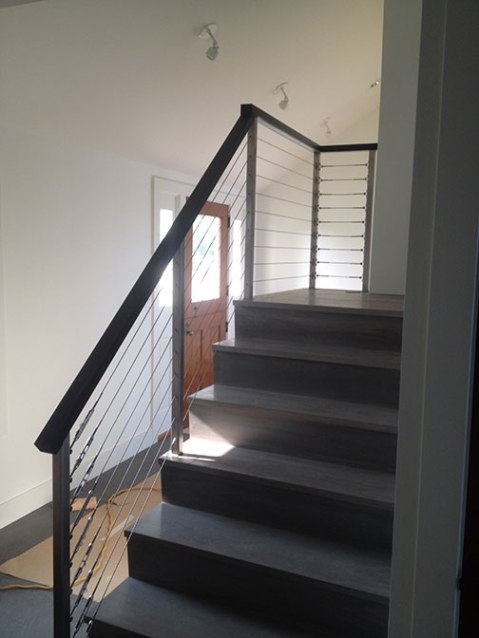 Noank staircase finished