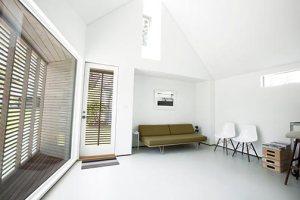 Photo studio from inside