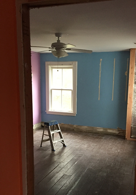 Darien renovation, interior room