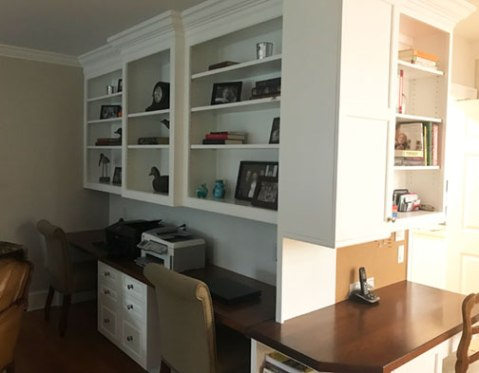Cabinets, shelves, current