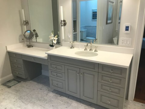 Master Bath vanity, current